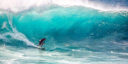 ハワイ サーフィン ハレイワアリイビーチ