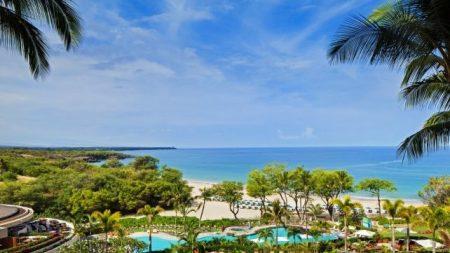 ハプナビーチリゾートホテルの景色