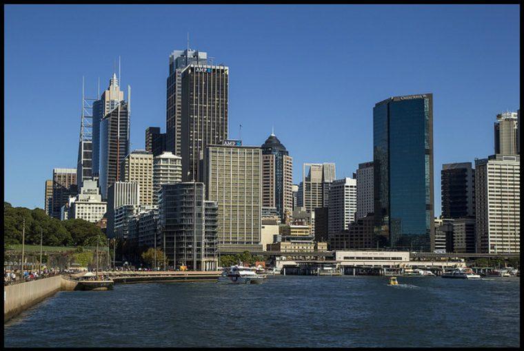 シドニー 町並み オーストラリア