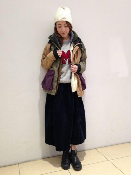 アウトドア ファッション 冬