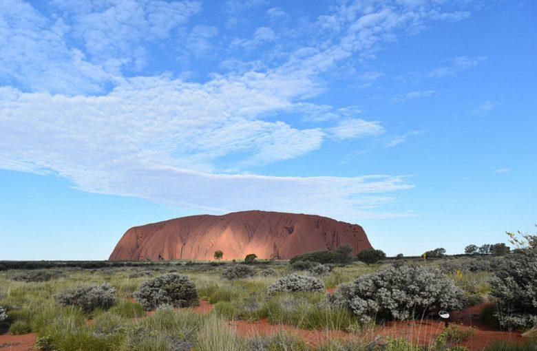 オーストラリア ウルル 世界遺産