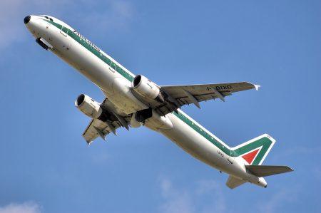 イタリアの飛行機