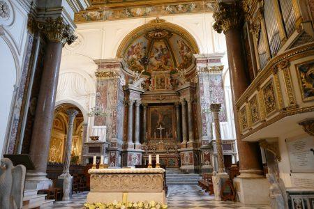 大聖堂内部のバロック様式