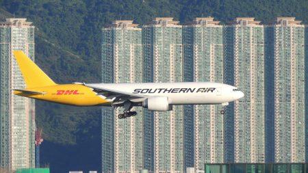 香港 飛行機