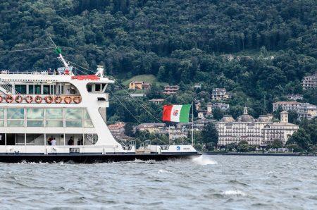 アマルフィへ行く船