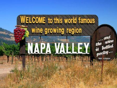 ナパバレーのカルフォルニアワイン