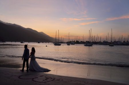 サントリーニ島でフォト撮影