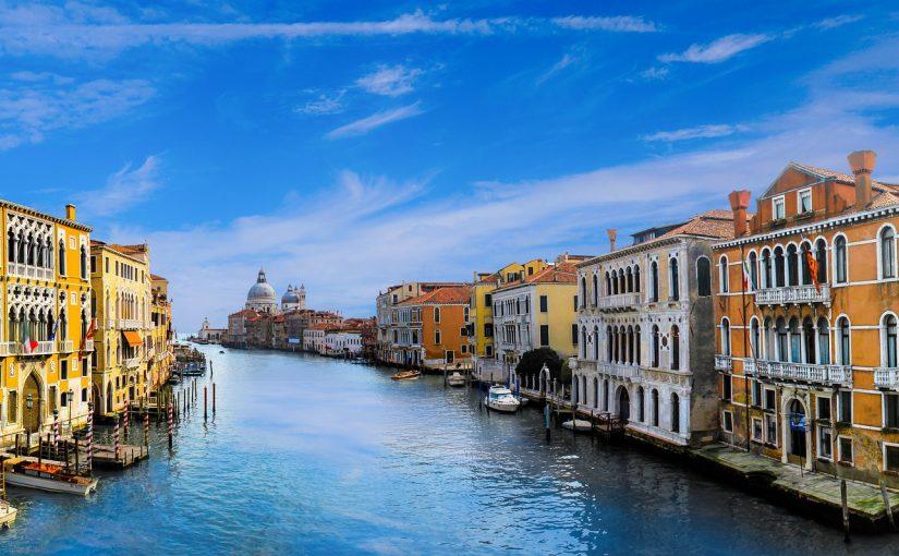 イタリアヴェネツィアの風景