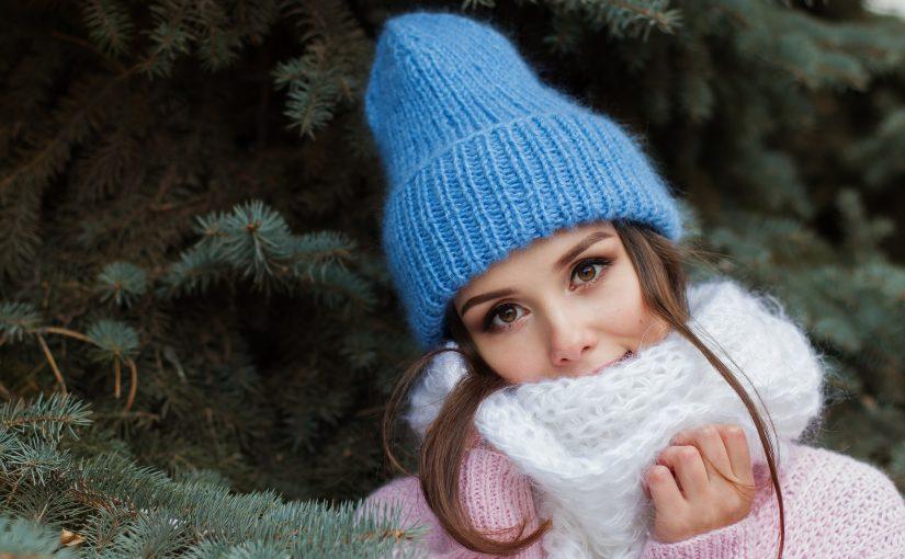 ニット帽子 女性