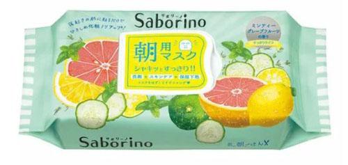 目ざまシート爽やか果実のすっきりタイプ/サボリーノ