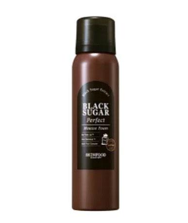 ブラックシュガーパーフェクトムースフォーム洗顔料/SKINFOOD(スキンフード)