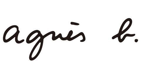 agnes b ロゴ