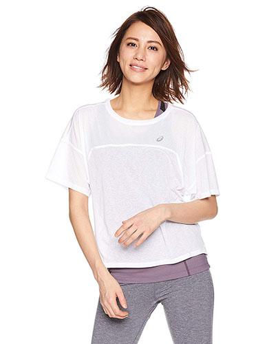 asics/クール半袖シャツ