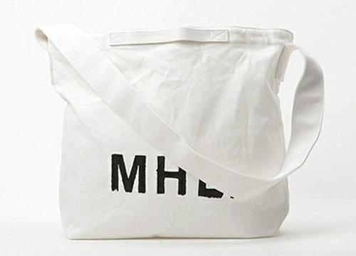 MHL./ショルダートートキャンバスバッグ 2Way