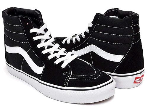 SK8-HI スケート ハイ BLACK/BLACK/WHITE