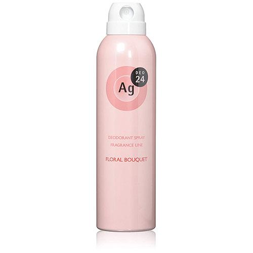 AgDEO24 パウダースプレー フローラルブーケの香り