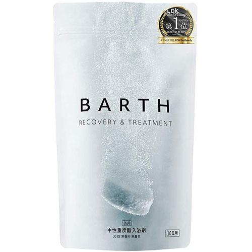 BARTH バース 入浴剤 中性 重炭酸 30錠入り