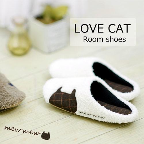 LOVE CAT ルームシューズ