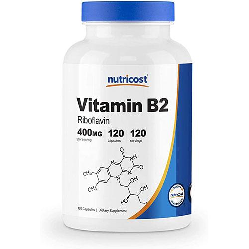 Nutricost ビタミンB2(リボフラビン)400mg