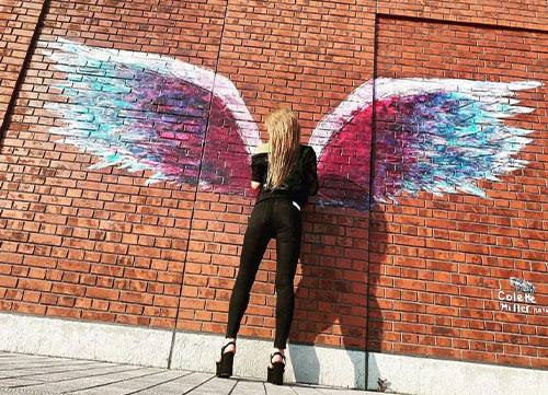 翼が生えたりなさん