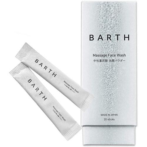 BARTH (バース) / 中性重炭酸 洗顔パウダー 10個入り